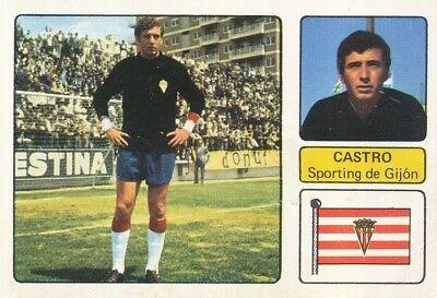 JESUS ANTONIO CASTRO # SPORTING GIJON CROMO CARD CAMPEONATO DE LIGA 1973-74...