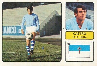 SANTIAGO CASTRO # RC.CELTA CROMO CARD CAMPEONATO DE LIGA 1973-74 FHER
