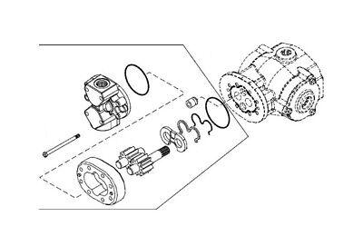 John Deere Skid Steer 250 Serial 350645- Earlier Hydraulic Pump Kv13512
