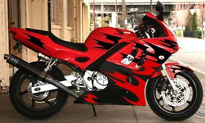 RAZORSport Bike Graphics Motorcycle Decals Stickers EBay - Motorcycle decal graphics