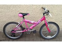 "Bike/Bicycle.GIRLS MOUNTAIN RIDGE "" BEBOP "" BICYCLE. SUIT 6-9 YEARS"