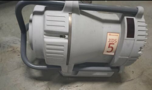 Edwards xds5 Dry  scroll vacuum pump  working