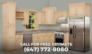 Custom Kitchen Cabinets and more in GTA. Call (647) 772-8080