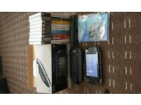 PSP ABOUSTLEY MINT CONDITION 11 GAMES PSP STILL IN BOX ALL INSERTS AND BOOKS