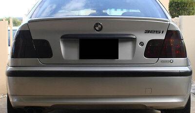 99-05 BMW 3 series (sedan) smoked tinted tail light covers vinyl $5 REFUND AVAIL ()