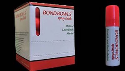 Lawn Bowls Spray Chalks - Bundle of 4 individual sprays- £9.19
