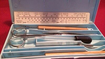 Vintage Hamilton Bell Co. Dissecting Kit