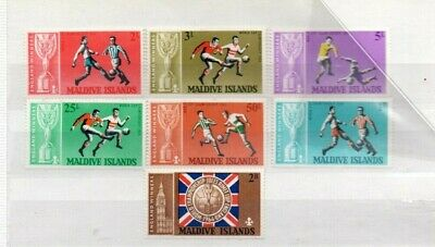 A very nice unused Maldives 1966 World Cup group