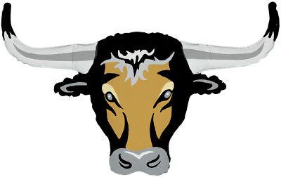 Long Horn Bull Steer Cow Farm ANIMALS Barnyard Country Western Birthday Party Ba