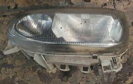 VW Golf Mk3 Left Side Headlight 1998