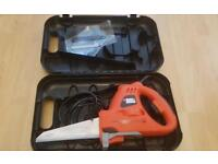 Black and decker scorpion wired electric handsaw