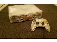 Microsoft xBox Crystal Clear Limited Edition