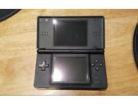 Nintendo ds in black