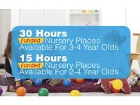 15/30 Hours Funded Childcare Available