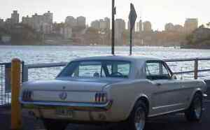1966 Ford Mustang Coupe LHD 6cyl Neutral Bay North Sydney Area Preview