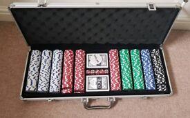 Poker set - barely used