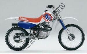 ISO 1987 to 1999 Honda XR100/80 parts bike