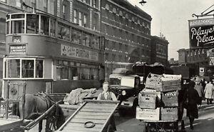 Borough Market Southwark South London ready mounted 1949 photo view SUPERB