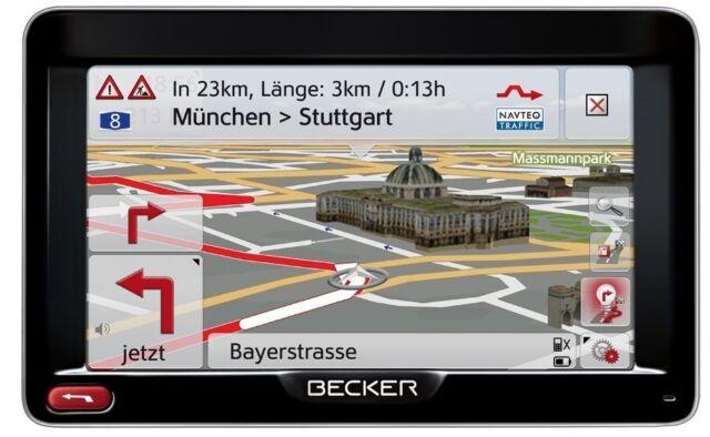 """Becker Professional 50  GPS Navigation System 5"""" Zoll Touchscreen 44 Länder"""