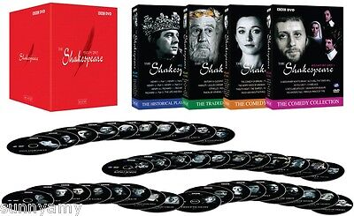 BBC TV Shakespeare DVD Collection Box Set - ALL 37 Plays - A Lovely Gift (NEW)