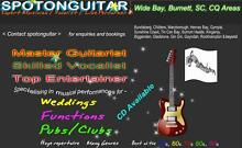 """SPOTONGUITAR"" Expert Lead Guitarist/Vocalist - Wide Bay /Burnett Bundaberg Surrounds Preview"