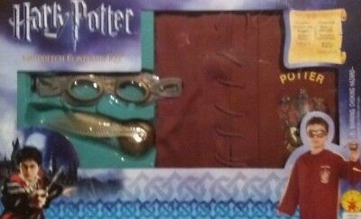 OFFICIAL HARRY POTTER QUIDDITCH FANCY DRESS UP COSTUME OUTFIT RUBIES BRAND NEW ()