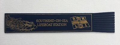 Vintage RNLI Lifeboats Bookmark Southend On Sea Station