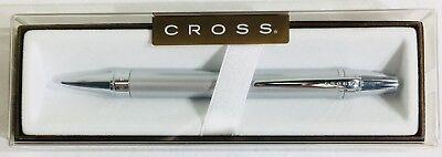 - Cross® Nile Satin Chrome Ball-Point Pen