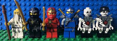 Lego Ninjago Lot Of 6 Minifigures