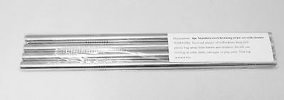 8 STAINLESS STEEL DRINKING STRAW set 2 ...