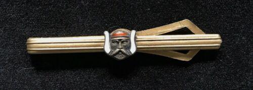 RARE Vintage Masonic M.O.V.P.E.R. Freemasons Grotto Enameled Tie Bar Clip