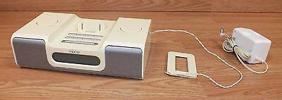 iHome (iH5) Alarm Clock Radio Speaker Dock System For iPod & iPhone **READ**