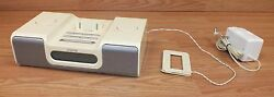 iHome (iH5) Alarm Clock Radio Speaker Dock System For iPod & iPhone **READ**