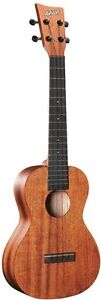 CONCERT UKULELE SOLID MAHOGANY BACK AND SIDES NATURAL UKULELE UKE FREE P&H!