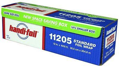 Handi-foil 12x1000 Standard Aluminum Food Kitchen Wrap Roll Premium Quality