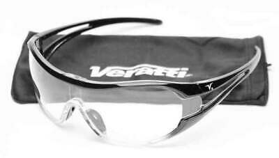 Encon Veratti V6 Safety Glasses with Clear Lens ANSI Z87