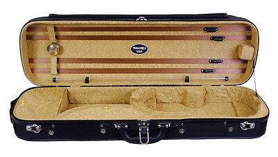 Tonareli Violin Oblong Hard Case -Brown Paisley VNH1203 - Overstocked - Save 60%