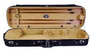 Tonareli Violin Oblong Hard Case -Brown Paisley VNH1203 - Overstocked - Save 60%