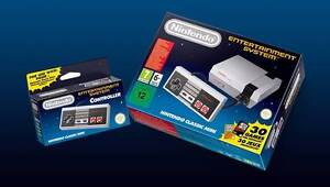 RARE - Nintendo Classic Mini NES console + second controller Potts Point Inner Sydney Preview