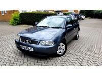Audi A3 1.9 TDi DIESEL, 1 Owner, FULL SERVICE HISTORY, Long MOT, 2 Keys