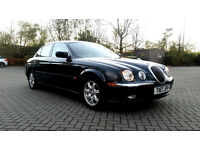 SUPERB JAGUAR S-TYPE, AUTOMATIC ,FULL SERVICE HISTORY, MOT, FULLy LOADED