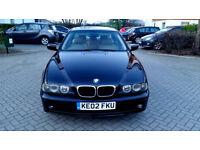 BLACK BMW 520I AUTO BEIGE LEATHER SAT NAV TV LOW MILEAGE FSH PX