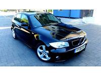 BLACK BMW 1 SERIES 118d 2.0 Diesel, Alloys, Service History