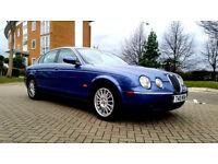 SUPERB JAGUAR S-TYPE 2005, AUTOMATIC, FULL JAGUAR SERVICE HISTORY, MOT, FULLY LOADED 2x keys px