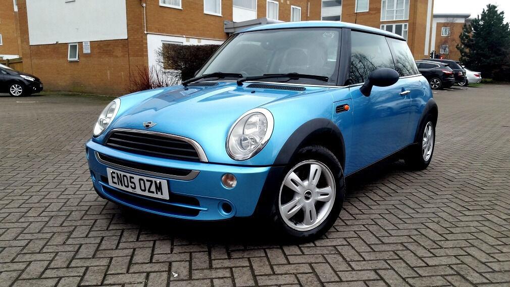 Light Blue Mini Cooper One 1 6 Full Service History Mot Superb Drive