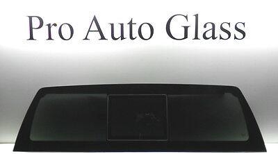 2007-2013 Chevrolet Silverado Manual Slider +2 GLUE HP Back Sliding Glass Window