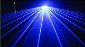 Willi Pro UK 500mw REAL BLUE LASER LIGHT Disco / Nightclub DJ party lazer lazor