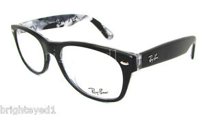 fake ray ban eyeglass frames  authentic ray ban new wayfarer black eyeglass frame rx 5184f 5405 52mm