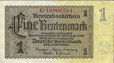 Ro.166c 1 Rentenmark 1937 (unc)