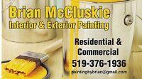 Brian McCluskie Interior & Exterior Painting